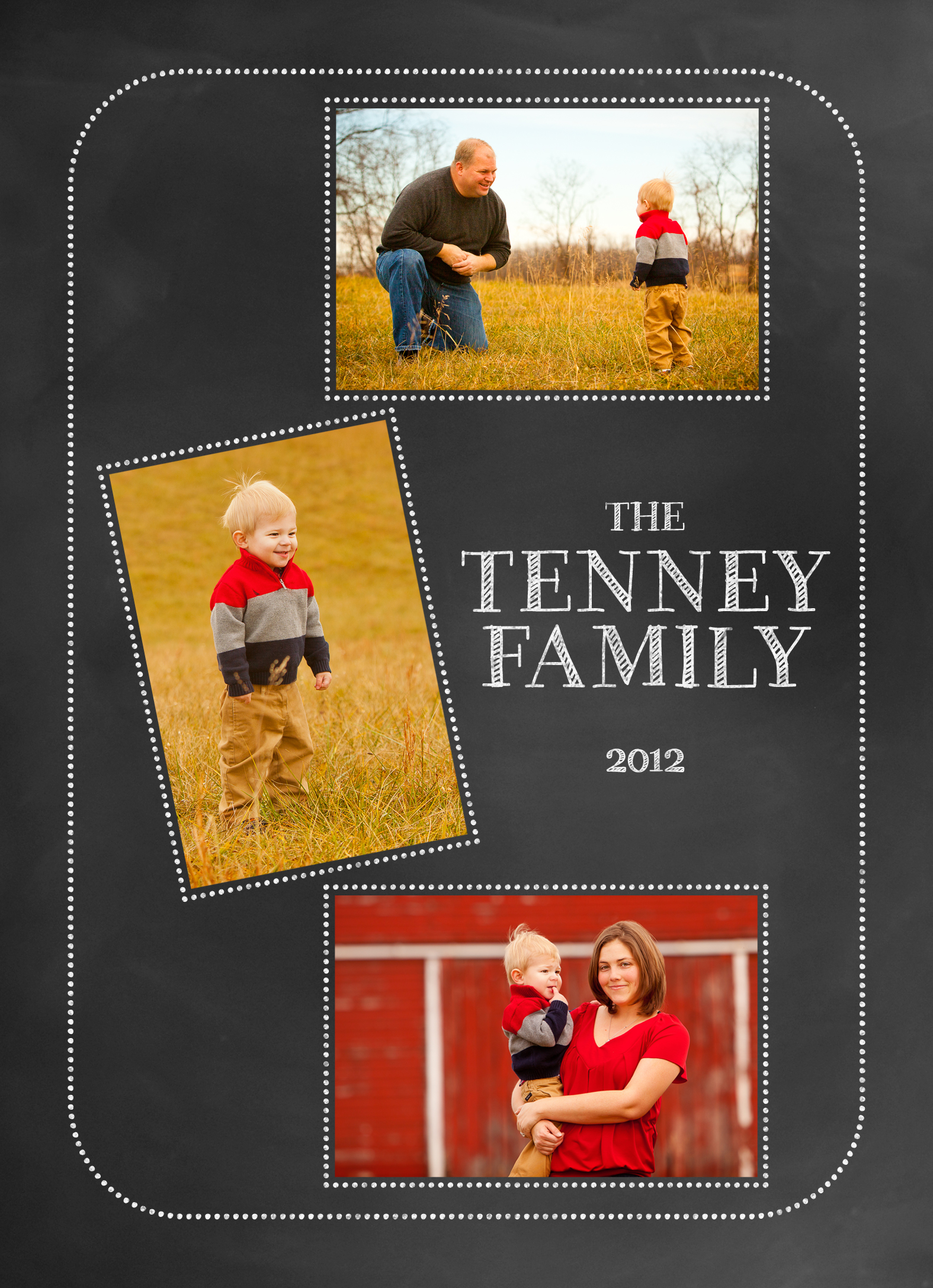 Christmas Card Front 2012